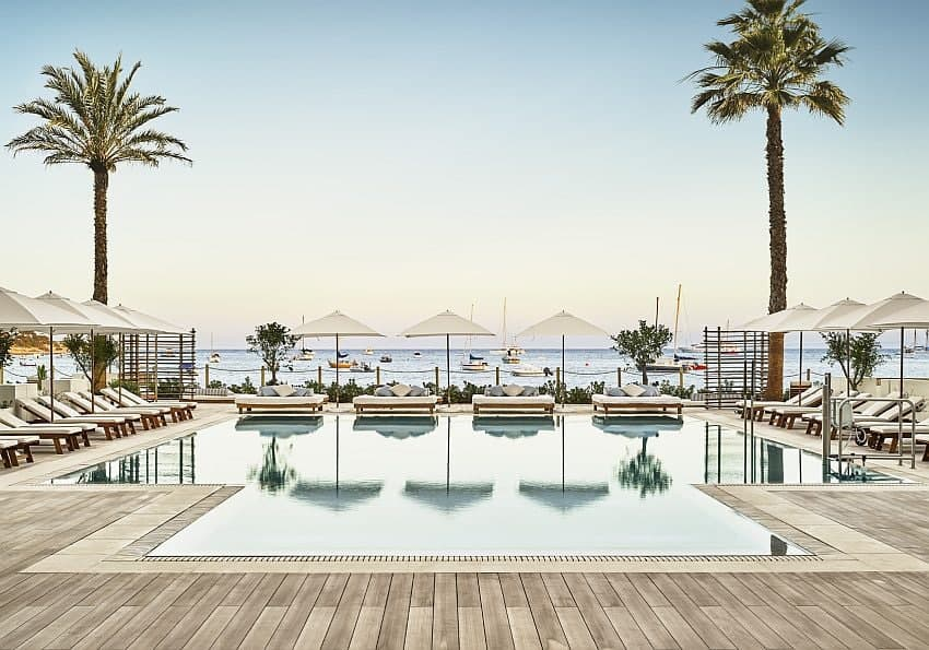 Pool Nobu Hotel Ibiza Luxushotel