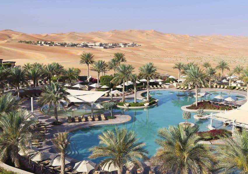 Qasr Al Sarab Desert Resort by Anantara Abu Dhabi Wüste