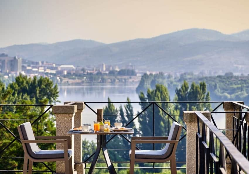 Portugal Six Senses Douro Valley Breakfast With A View