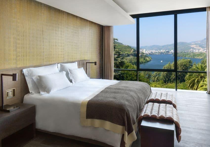 Portugal Six Senses Douro Valley Quinta Panorama Bedroom