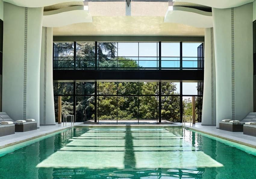 Portugal Six Senses Douro Valley Spa Indoor Pool