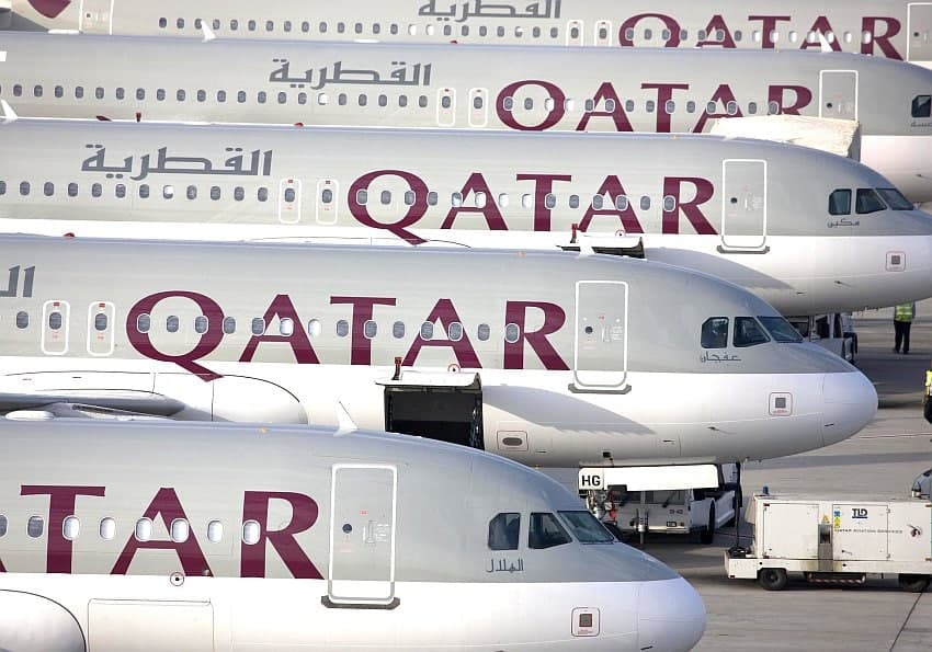 Flugzeuge Qatar Airways