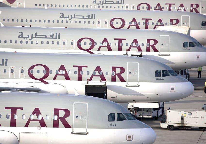 Flugzeuge Qatar Airways