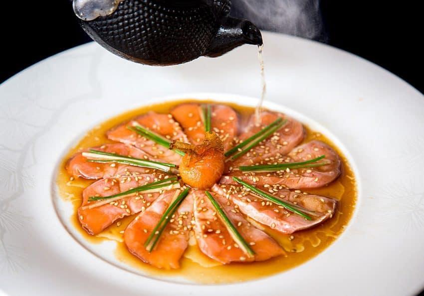 Salmon Sashimi New Style Henry Hargreaves
