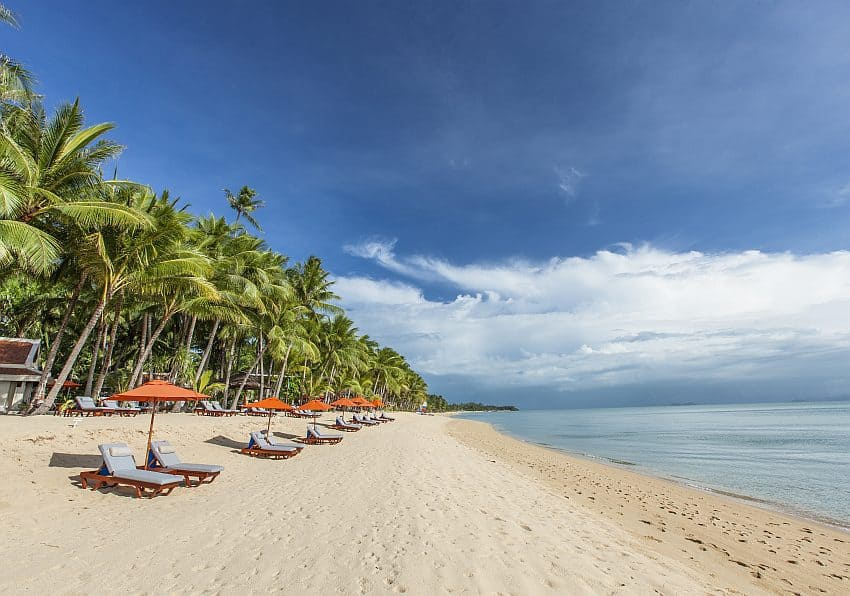 Santiburi Koh Samui A Beach