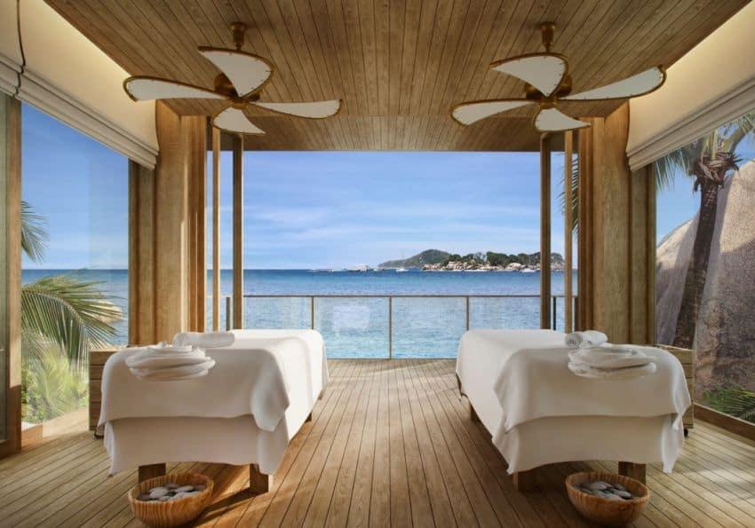 Seychelles Six Senses Zil Pasyon Spa Treatment Room