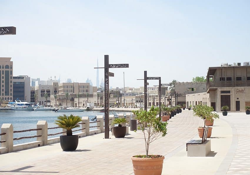Shindagha Uferpromenade