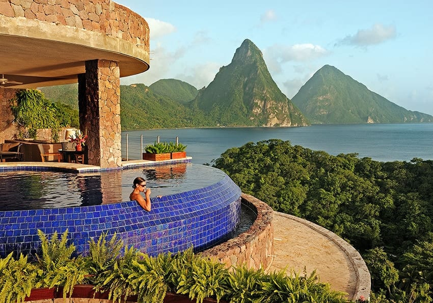 Sicht Jade Mountain