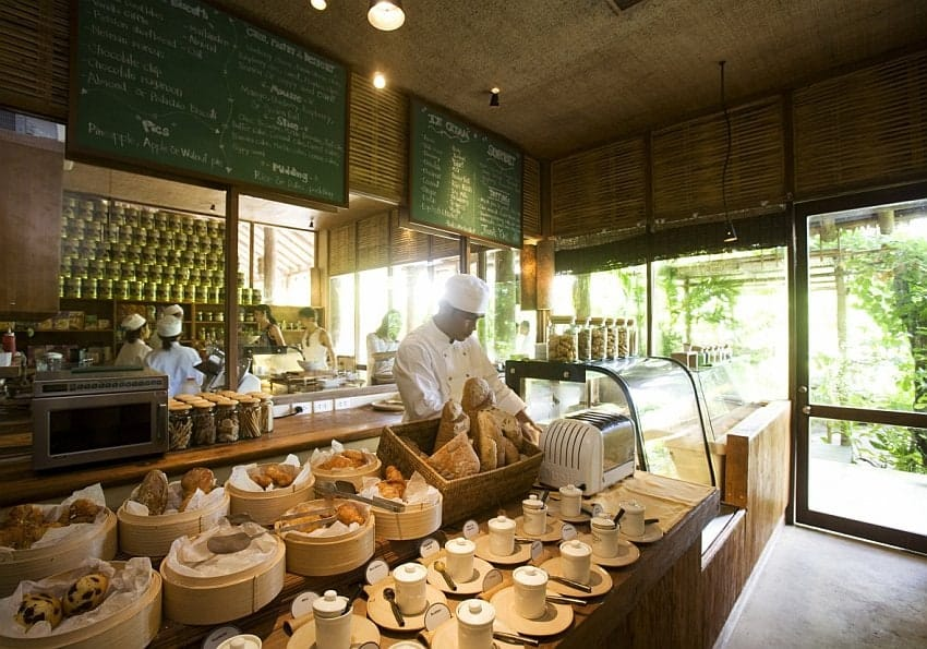 Café im Six Senses Yao Noi