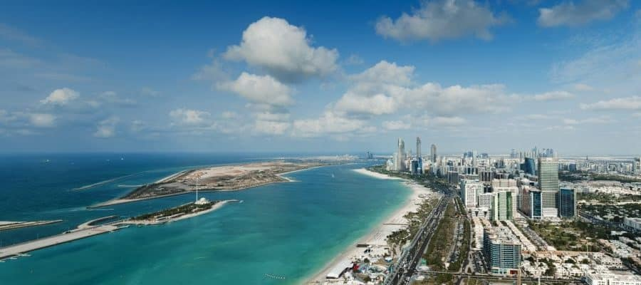 St Regis Abu Dhabi Aussicht