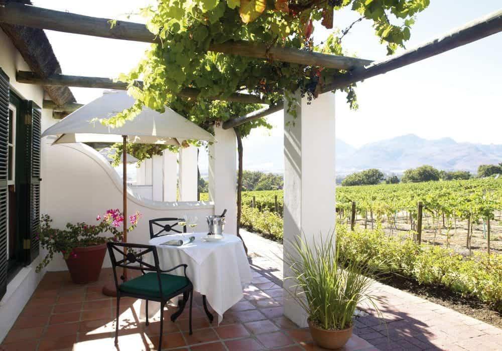 Südafrika Grande Roche Terrace Suite