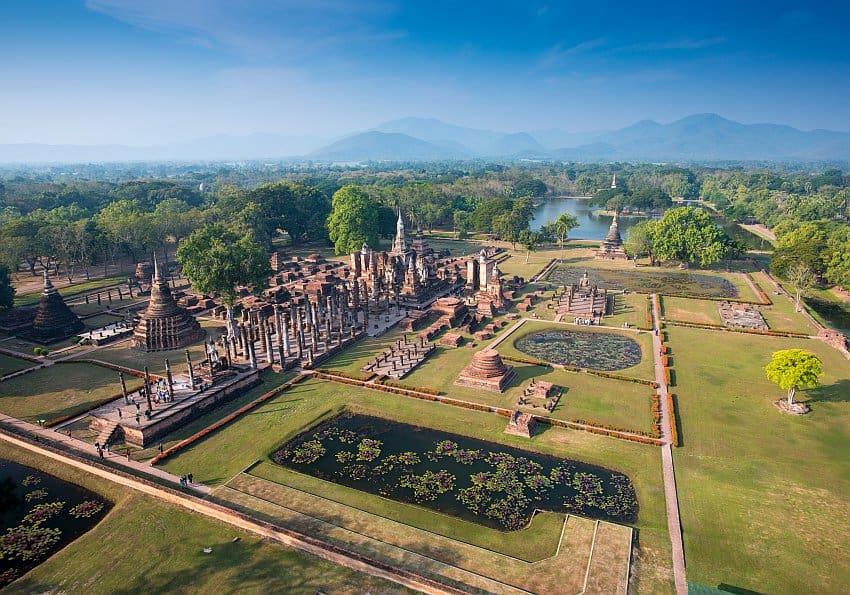 Sukhothai Gelände