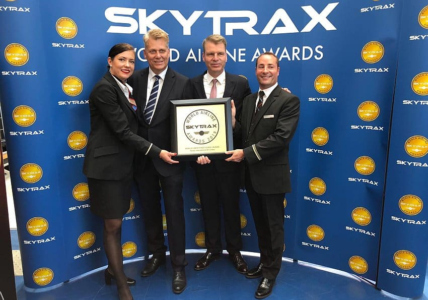 Airline Awards: Swiss Air