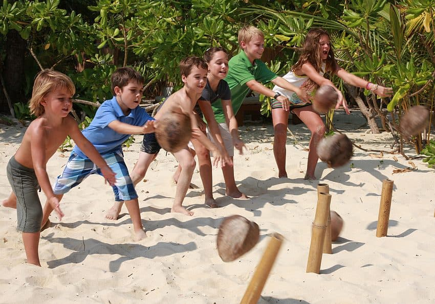 Thailand Koh Kood Soneva Kiri Kids Activities By Cat Vinton