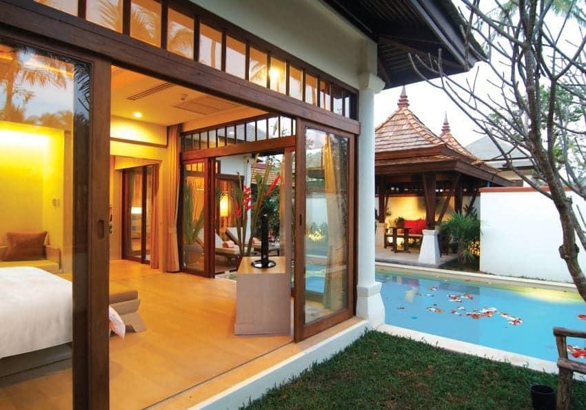 Thailand Koh Samui Melati Pool Villa Suite Outdoor