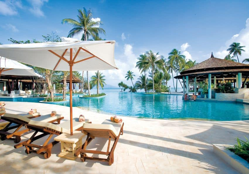 Thailand Melati Beach Resort Spa Beach Pool Suggestion
