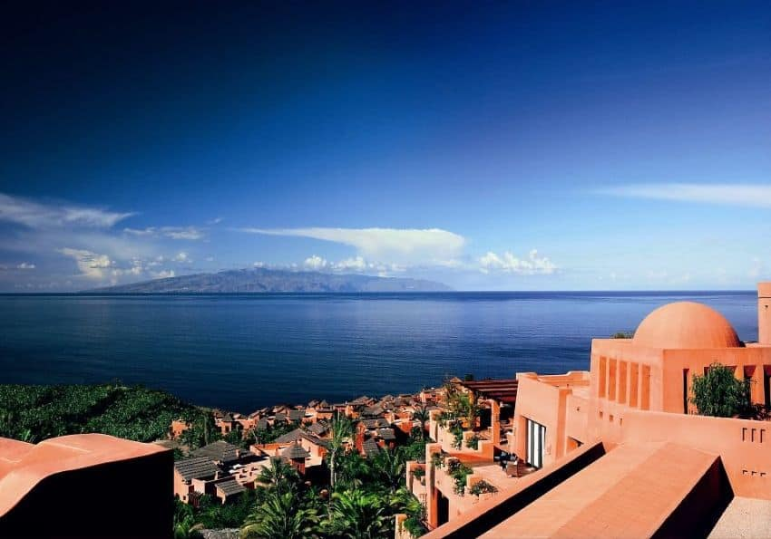 Blick vom Ritz-Carlton, Abama aufs Meer