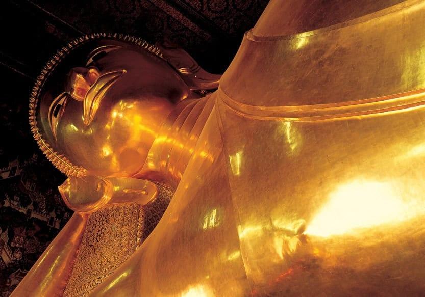 Liegender Buddha im Tempel Wat Pho