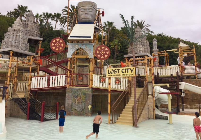 Wasserpark Lost City