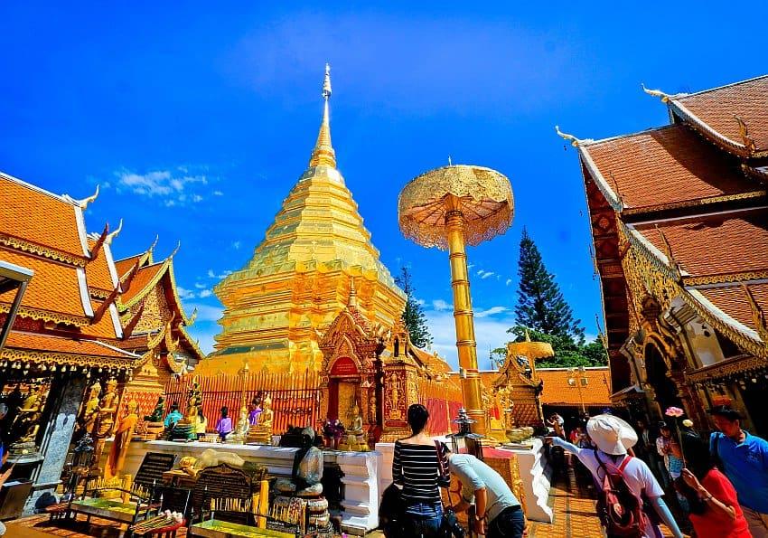 Chiang Mai Bergtempel