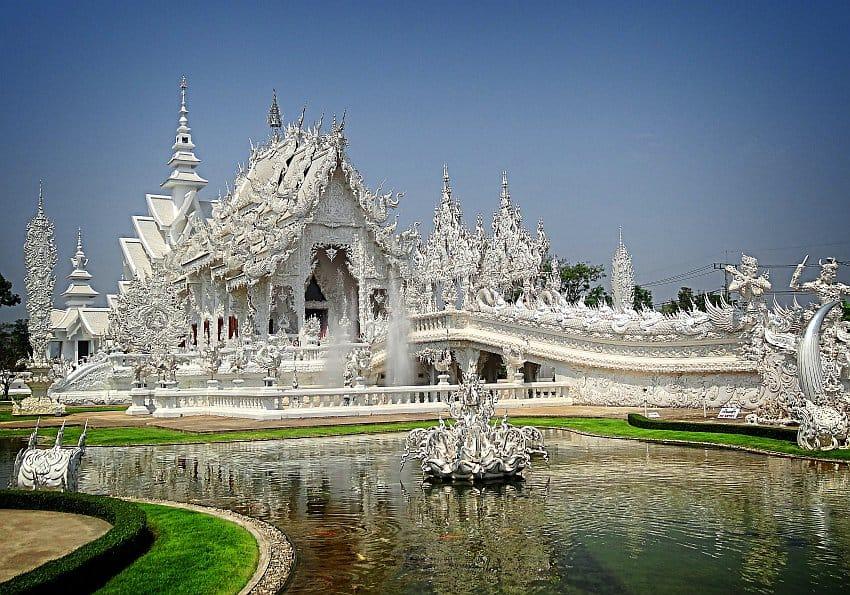 weißer Temepl Chiang Rai