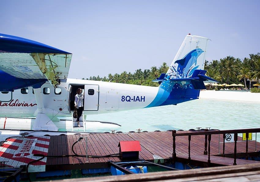 Ankunft Malediven
