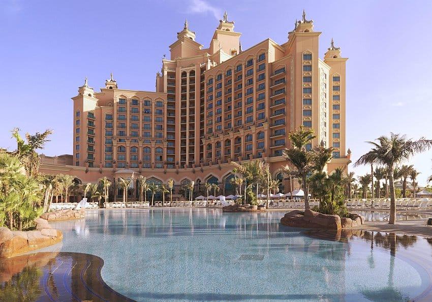 Strand und Pool Dubai Atlantis