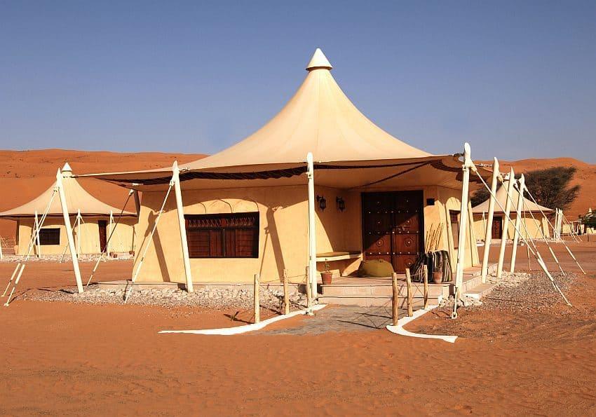 Desert Nights Camp Exterior