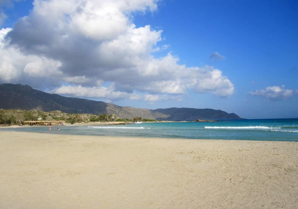 Strand bei Elafonissi