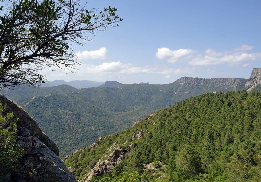 Gennargentu Gebirge
