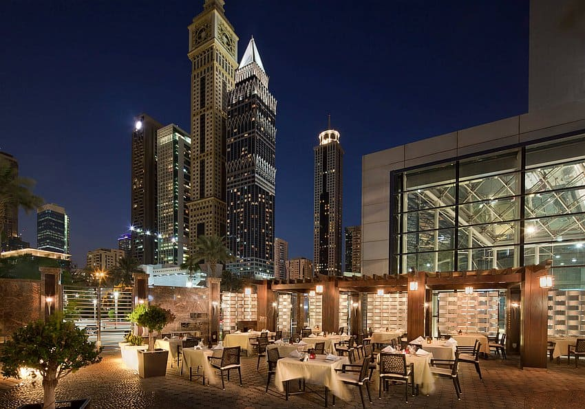 Jumeirah Emirates Towers Al Nafoorah Terrace