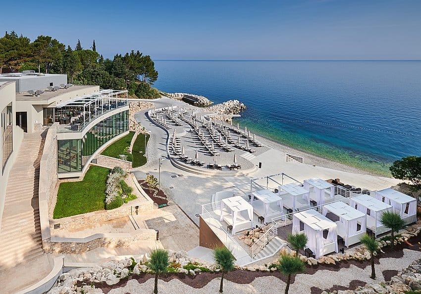 Kempinski Hotel Adriatic Aerial