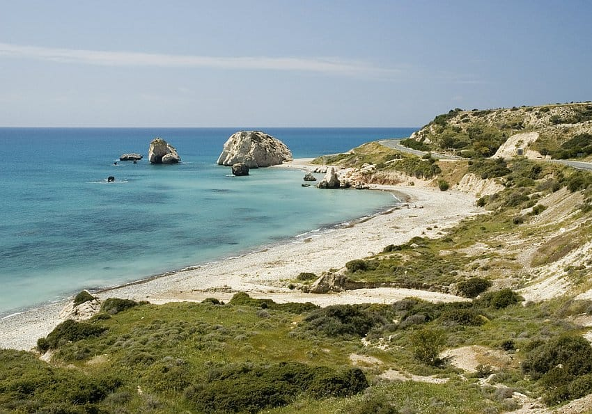 Kueste Zypern