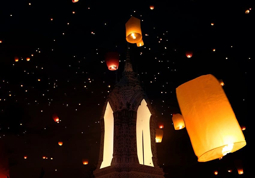Lampions Nacht