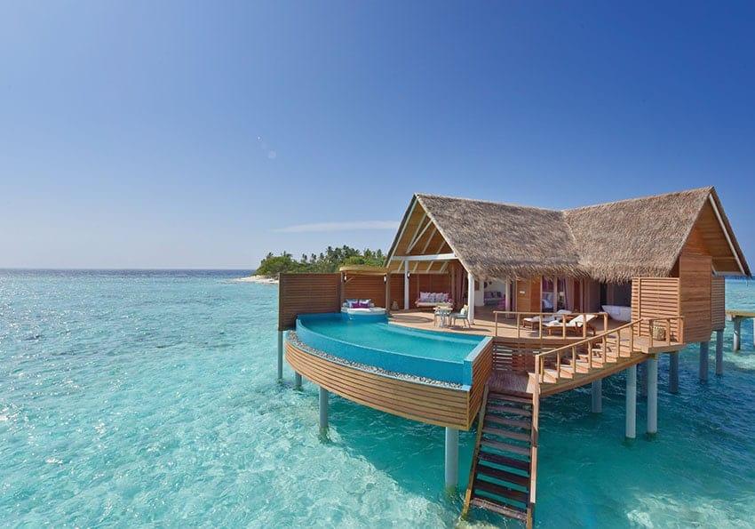 Mit etwas Türkis dem herbstlichen Grau entfliehen: Milaidhoo Island Maldives
