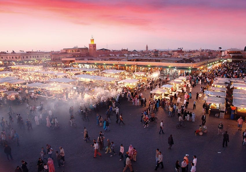 Der Duft der Orients: Kultur und eine magische Atmosphäre gibt es in Marrakesch