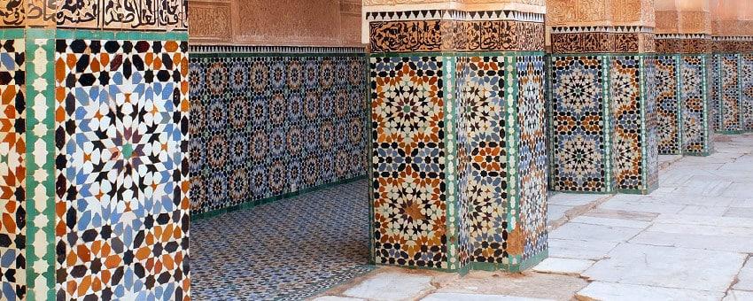 Mosaik Marrakesch Marokko