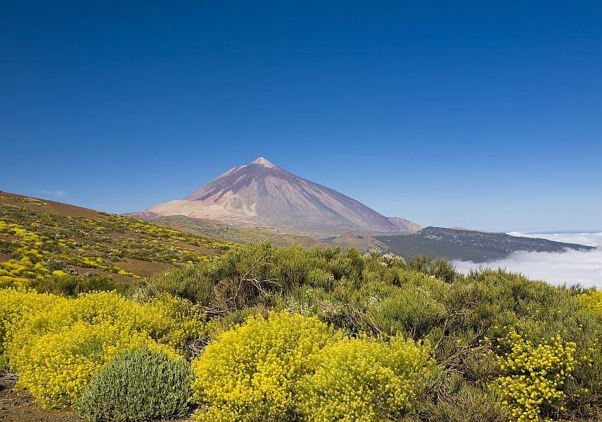Herbst Urlaub auf dem Pico Del Teide
