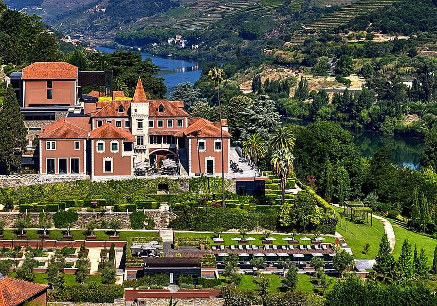 Portugal Six Senses Douro Valley Aerial View