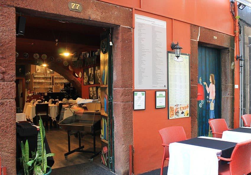 Restaurants auf Madeira