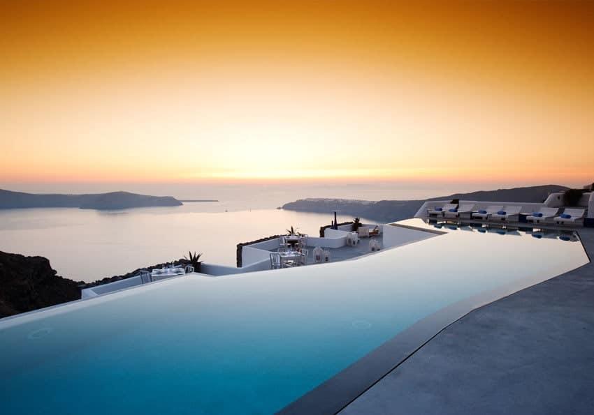 Honneymoon im Grace Santorini