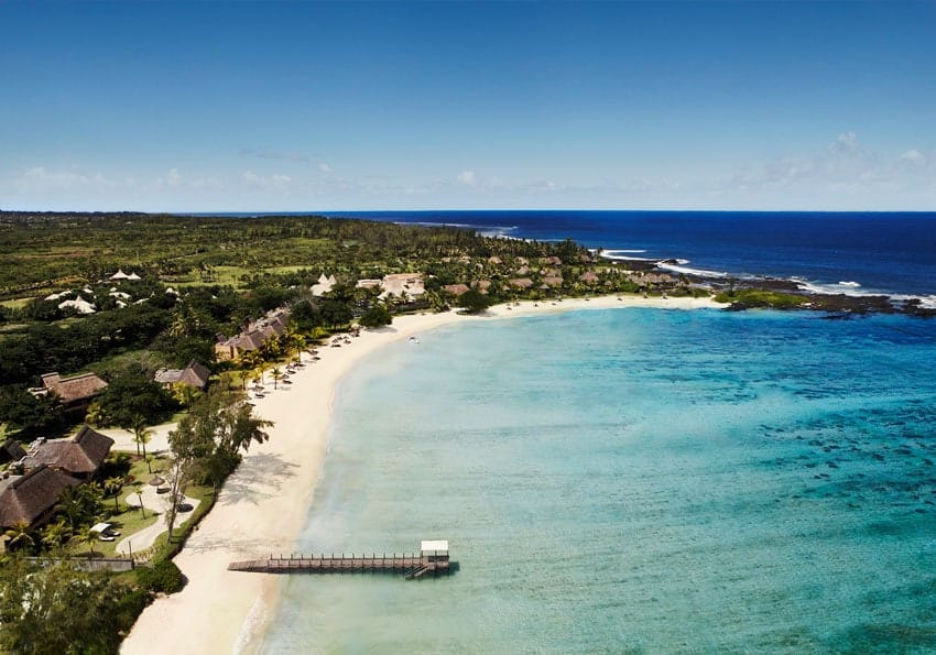 Ein tropischer Flitterwochen Traum