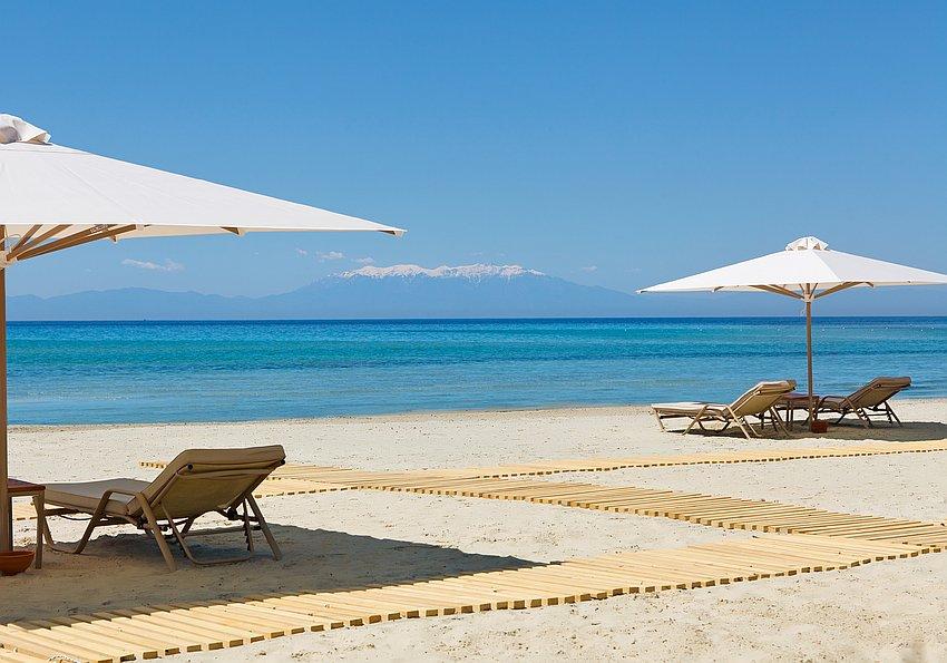 Strand Griechenland Sani