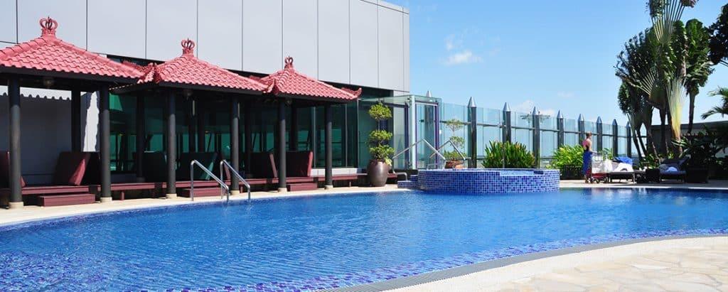 Swimming Pool Singapur Changi
