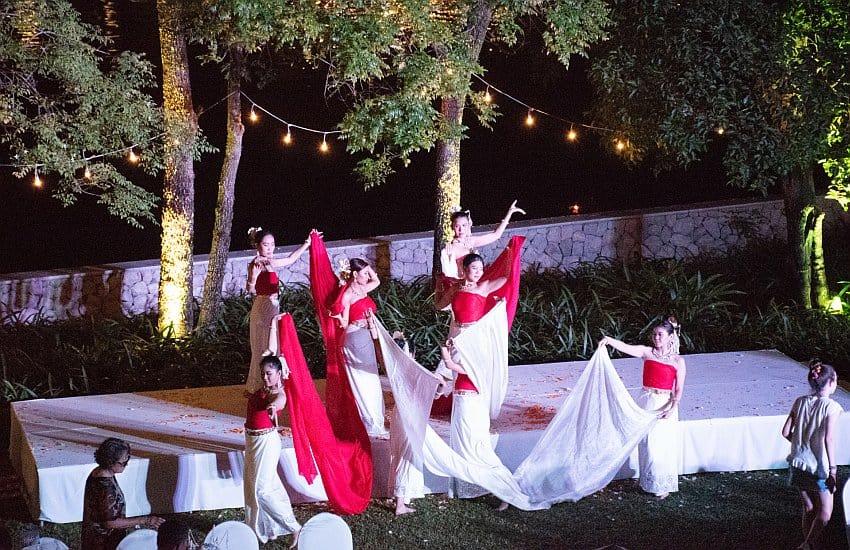 Tanzaufführung Anantara