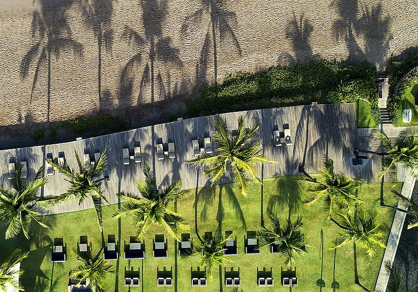 The Samaya Seminyak Beach And Deck Aerial View
