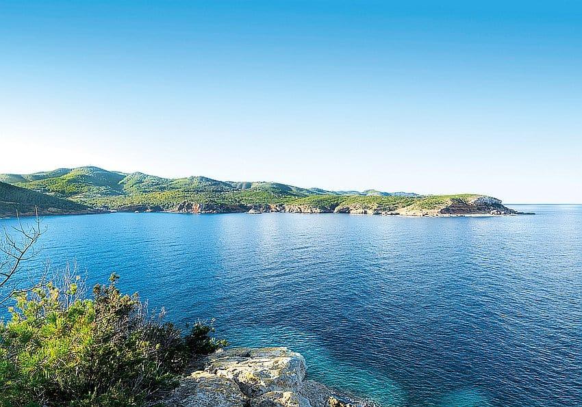 View Of Cala Xarraca Bay