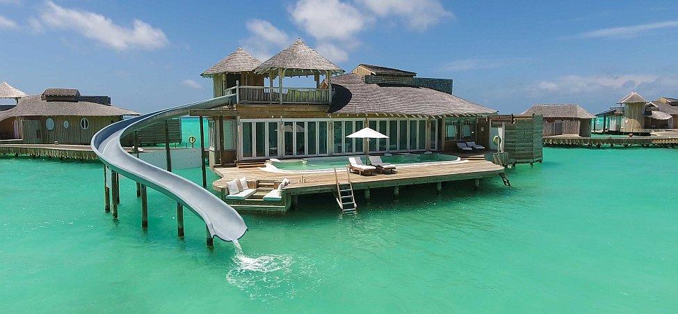 Malediven Überwasservilla