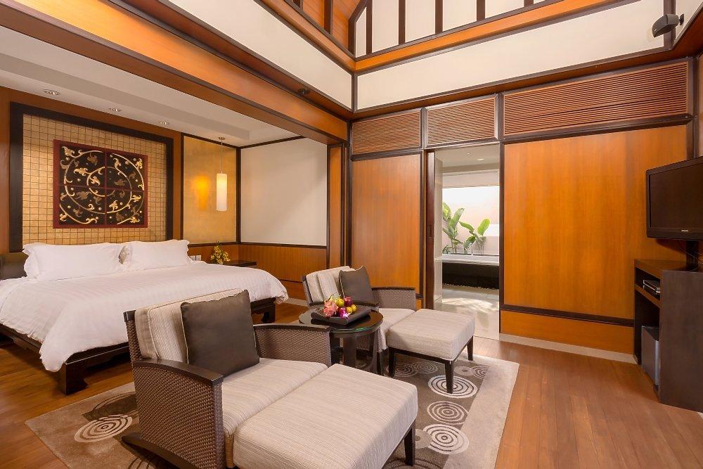 Grand 2 BR Pool Villa Schlafzimmer   Banyan Tree Phuket