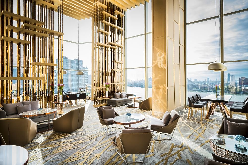 Lobby avani riverside bangkok hotel